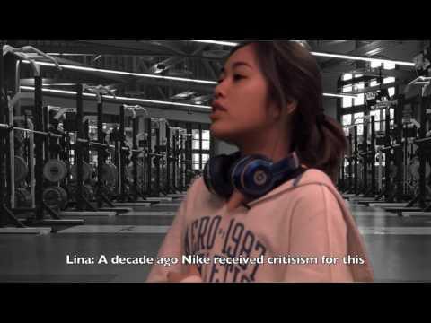 Nike's sweatshop