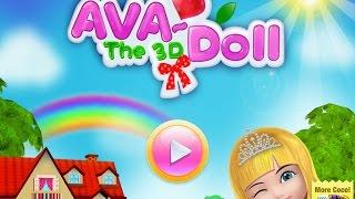 Ava the 3D Doll oyununda çiçek dikerek ve salıncağa binerek eğlendik. iyi seyirler.