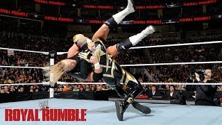 Cody Rhodes&Goldust vs. The New Age Outlaws - WWE Tag Team Championship Match: Royal Rumble Kickof