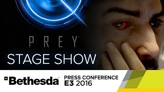 PREY Reveal Stage Show - Bethesda Press Conference E3 2016 by GameSpot