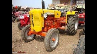 power testing of HINDUSTAN tractor
