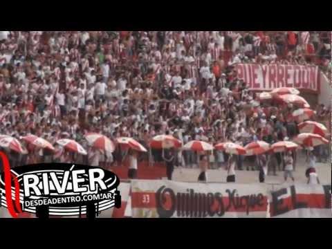 Ahi viene la hinchada vs. Independiente R. Mza. [HD] - Los Borrachos del Tablón - River Plate