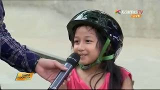 """Video Perempuan 7 Tahun Ini Lincah Main """"Skateboard"""" MP3, 3GP, MP4, WEBM, AVI, FLV Mei 2017"""