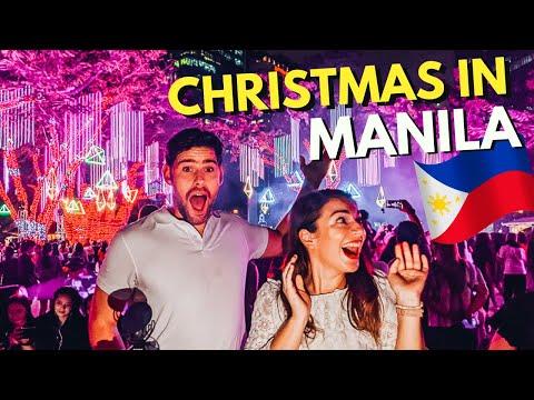 INSANE CHRISTMAS Light Show in MANILA at AYALA TRIANGLE GARDENS