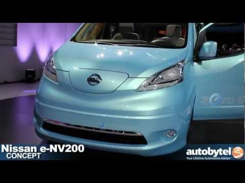 Nissan e-NV200 concept at the 2012 Detroit Auto Show video