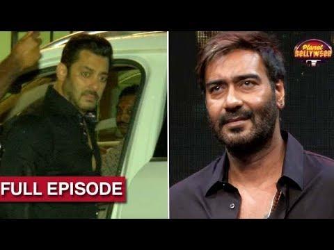 Salman, Sanjay Bid Farewell To Lord Ganesha  