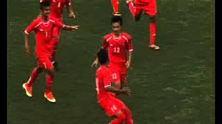 Nepal Vs Baharain AFC Under 16 Football