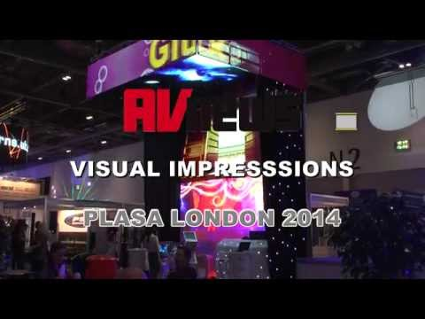 AV News Visual Impressions PLASA London 2014
