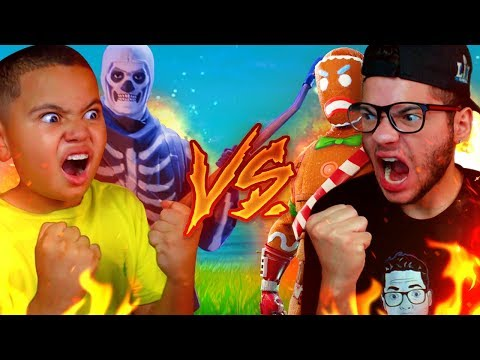 1V1 MINDOFREZ VS 9 YEAR OLD BROTHER! BATTLE OF THE YEAR OMG! FORTNITE BATTLE ROYALE *NEW* PLAYGROUND