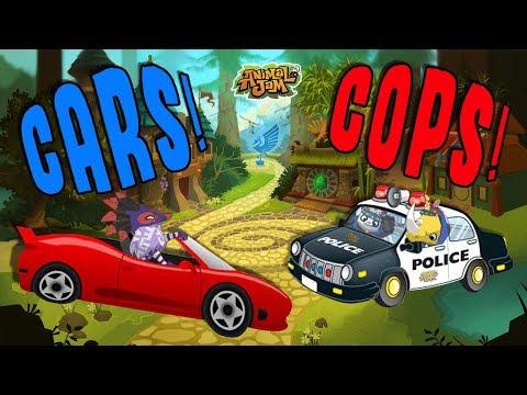 Video Cars & Cops In Animal Jam! Funny New AJ Skit! download in MP3, 3GP, MP4, WEBM, AVI, FLV January 2017