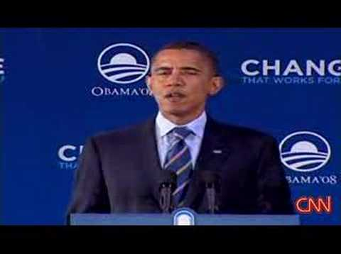 globalization - Watch Sen. Obama discuss the challenges of the new, globalized economy at an event in Michigan Monday.