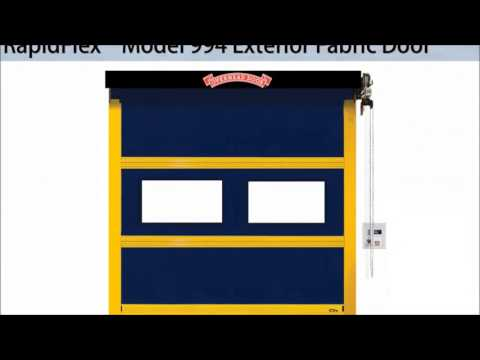 RapidFlex High Speed Doors | Fabric and Rubber Doors from Overhead Door