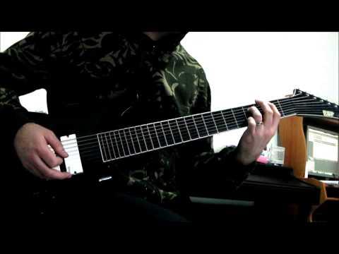 ESP Stef B8 - Deftones - CMND CTRL 8 String Guitar Cover