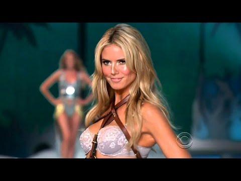 Heidi Klum Topless. Gets Wet In A Bikini.