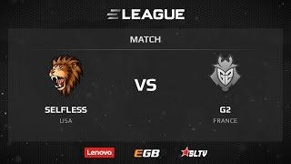 G2 vs Selfless, game 2