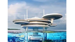 Podwodny hotel | Underwater hotel | DOT | Deep Ocean Technology | 2013 | Centrum Nurkowe Gdynia Dive