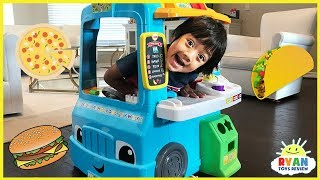 Pretend Play Food Toys Cooking Truck with Ryan ToysReview