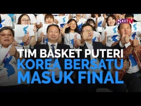 Tim Basket Puteri Korea Bersatu Masuk Final