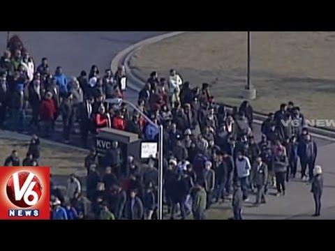 Rally Against NRI Srinivas Kuchibhotla Murder In Kansas City | V6 USA NRI News