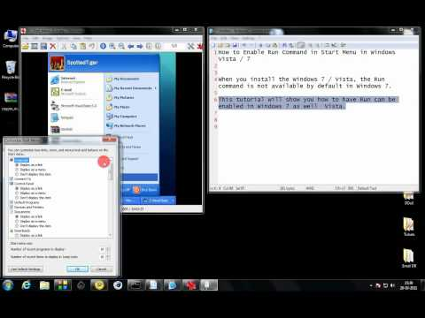 how to enable cmd on vista
