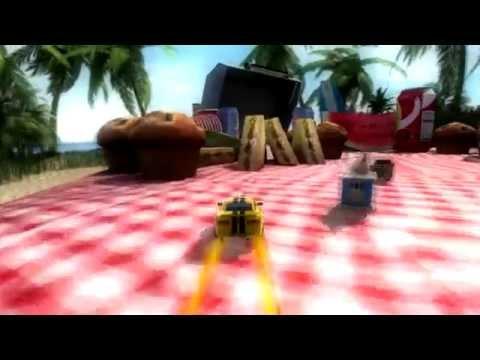 Video of Table Top Racing Premium
