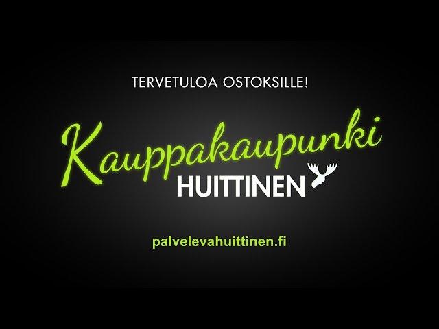 Huudi - mainospaketti - Huittinen - Kauppakaupunki - 19.1.2016