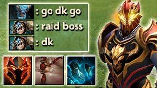 Passive Raid Boss Dragon Knight [6000 HP Imba Tank Build] Dota 2 Ability Draft