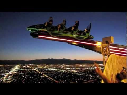 X Scream - Out of the 3 thrill rides onto of the stratosphere, Scream x in my opinion is by far the worst... check it out.