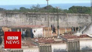 Brazil prison riot: They say my husband is dead - BBC News full download video download mp3 download music download