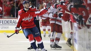 Andre Burakovsky steals puck, dekes and goes top shelf for early lead in Game 7 by NHL