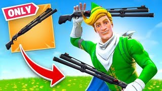 Combat Shotgun *ONLY* Challenge (Fortnite)