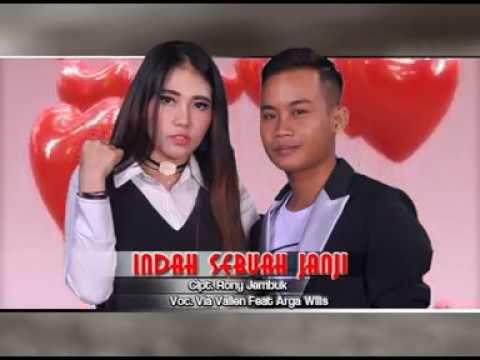 Download Lagu Via Vallen Ft.Arga Wilis - Indah Sebuah Janji [OFFICIAL] Music Video