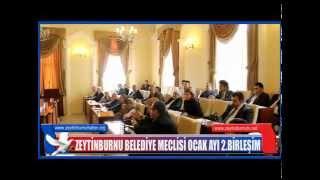 Zeytinburnu Belediye Meclisi Ocak Ayı 2 Birleşim 2015