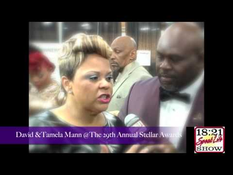 David & Tamela Mann From Tyler Perry @ The 29th Annual Stellar Awards