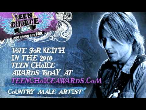 Keith Urban's Message To YOU About His 2010 Teen Choice Award Nomination