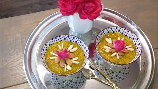 Persian Saffron Rice Pudding (Sholeh Zard) شعله زردPlease watch the full video for a detailed ingredient list & stepBy step instructions.In this video I show you how to make authentic Iranian (Persian)Rice Pudding.