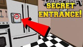 Minecraft: THE SECRET FRIDGE ENTRANCE!!! - Crack The Case - Cu...