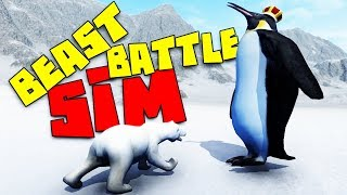 Epic Animal Soccer and King Penguin Attack! - Beast Battle Simulator Gameplay