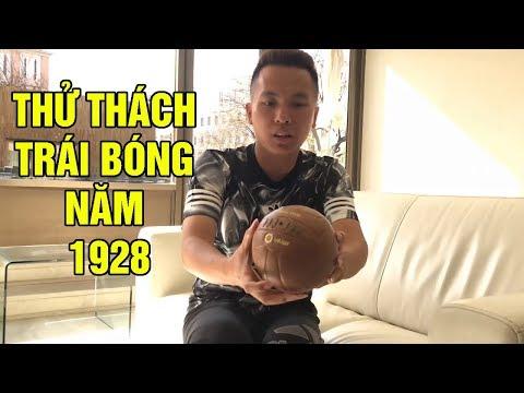 Thử thách bóng đá Đỗ Kim Phúc test thử skills với trái bóng 90 năm tuổi - Thời lượng: 6:22.