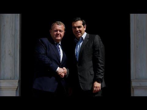 Μεταναστευτικό και Συμφωνία Πρεσπών στη συνάντηση Τσίπρα με Ράσμουσεν…