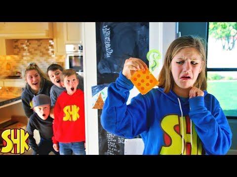 Stinky Cheese April Fools Joke! Sneak Attack Squad vs SuperHeroKids
