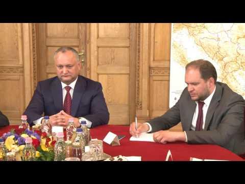 Президент Молдовы провел встречу с премьер-министром Венгрии Виктором Орбаном