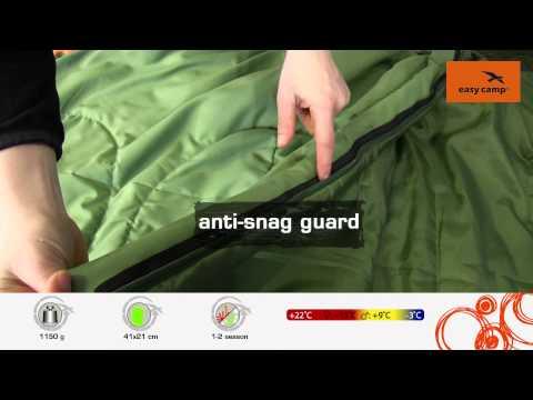 Відеоогляд спального мішка Easy Camp Florida Deluxe