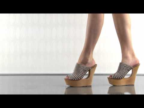 multiple heels and shoes - To purchase please visit: http://www.heels.com/womens-shoes/luccious-natural-multi.html Ooh la la! You won't be able to keep your hands off the Luccious by S...