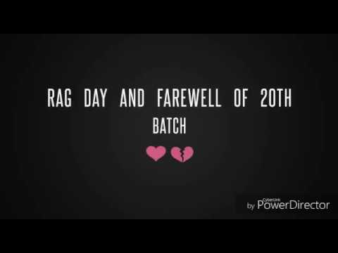 RAG Day and Farewell of CAJ 20th Batch | University of Chittagong