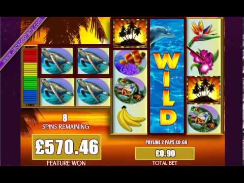 £1015.20 ON FORTUNES OF THE CARIBBEAN™ MEGA BIG WIN (1128 X STAKE) – SLOTS AT JACKPOT PARTY