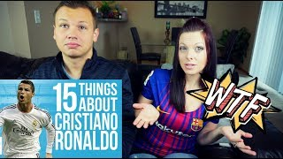 Video Reacting to 15 Things You Didn't Know About Cristiano Ronaldo MP3, 3GP, MP4, WEBM, AVI, FLV September 2019