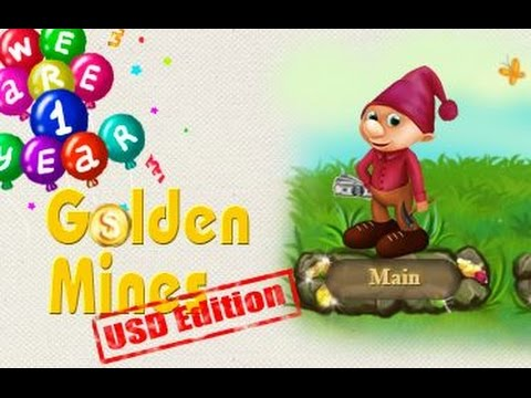 Golden Mines USD Tutorial how to work on GoldenMines 2017 English