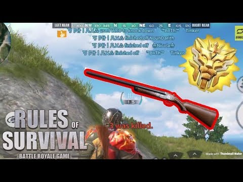 THE DUAL WRO CHALLENGE! - Rules Of Survival (Tagalog)