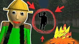 THE SECRET THEY HID IN BALDI'S CAMPING TRIP - WITH THE ENDING! | Baldi's Basics Field Trip Gameplay